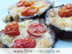 Zapekaný baklažán s mozzarellou Mozzarella, Sushi, Healthy Eating, Ethnic Recipes, Fitness, Food, Eating Healthy, Healthy Nutrition, Clean Foods