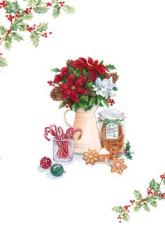 Lisa Alderson -Christmas Flowers