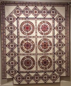 "Quaker Quilts: ""19 Stars: Quilts of Indiana's Past and Present"" - Indiana State Museum Celebrates Indiana's Bicentennial"