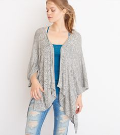 Light Sweater Poncho