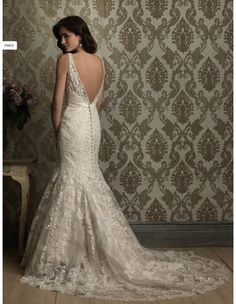 Stunning Allure Style# 8873 Wedding Dress $1400.00  on Hustle Your Bustle