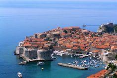 Dubrovnik World HD desktop wallpaper, Croatia wallpaper - World no. Places To Travel, Places To See, Travel Around The World, Around The Worlds, Korcula Croatia, Places Worth Visiting, Belle Villa, Countries To Visit, Paisajes