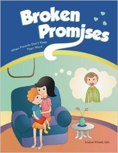 roken Promises is a workbook to help kids cope with a parent who isn't always there for them. Through therapeutic art and writing exercises, kids can get their feelings out, learn how to deal with those feelings in appropriate ways, and build their self-esteem. Designed for kids aged six to 12, this workbook is meant to be used as a counseling tool to foster healthy coping strategies and a positive self-image.