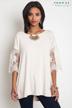 Lace Bell Tee