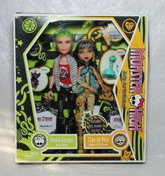 Monster High Doll Set Deuce Gorgon + Cleo de Nile