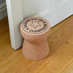 Doorstop Grand Vin, 50€, now featured on Fab.