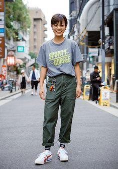 Onitsuka Tiger Women Outfit, Korean Street Fashion, Girl Fashion, Womens Fashion, Asian Style, Spring Summer Fashion, Cool Girl, Personal Style, Street Wear