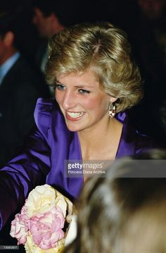 Diana at the Rocking with Royals concert Melbourne November 1985