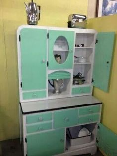 Cool enamel cabinet