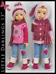 OOAK-HOODED-SWEATER-Outfit-BOOTS-Little-Darlings-Effner-13-by-Maggie-Kate. Ends 8/24/14. SOLD for $136.50