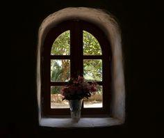 Window, church of St Ioannis.