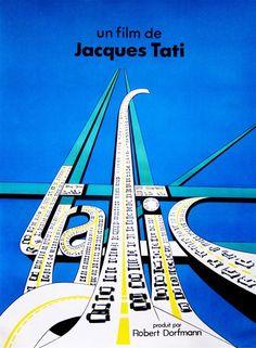 Trafic by Jacques Tati