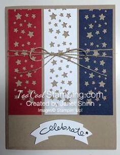 Janet - patriotic card                                                                                                                                                     More
