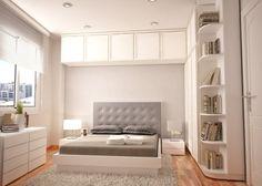 armário de cima da cama