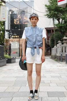 From tomboys to schoolgirl chic, Tokyo street style has it all. Photos by Stacey Young.