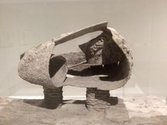 Frederick Kiesler, Model of Endless House, 1959. Cement and wire mesh…
