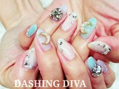 ビジューネイル|ジェルネイルデザイン|ダッシングディバ DASHING DIVA