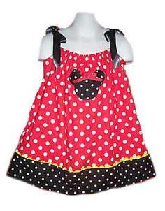 Cute polka dot and ribbon pillowcase dress with a little crab