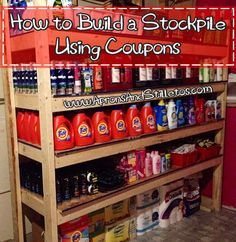 How To Build a Stockpile Using Coupons | Aprons and Stilletos
