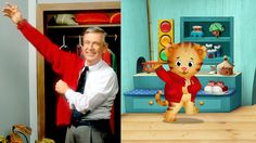 'Daniel Tiger's Neighborhood' in Mr. Rogers's Tradition......watched this With my son the other day. Felt a bit annoyed at the reasoning behind it. Just miss channel 11 and cartoons from my day as a youngin'