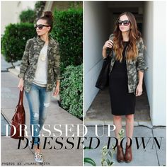 ONE JACKET, TWO WAYS                                                                                                                                                                                 More