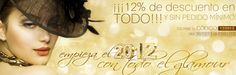 12% descuento en todo  Hasta el 03/01/2012