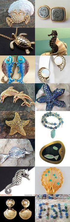 I'd like to be - under the sea by Sally Jones on Etsy--Pinned with TreasuryPin.com