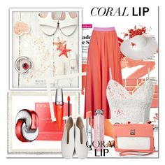 """Spring Beauty: Corals"" by cirja-georgiana ❤ liked on Polyvore featuring beauty, Bulgari, Roksanda, Christian Dior, Calvin Klein, Lancôme, STELLA McCARTNEY, Dorfman Pacific and coolcorals"