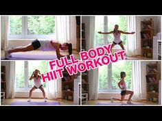 Ganzkörper HIIT Workout | Afterwork | 20 Minuten Training mit Fit Trio - YouTube
