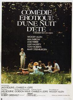 'Comédie érotique d'une nuit d'été' (1982); regia: Woody Allen. Titolo…