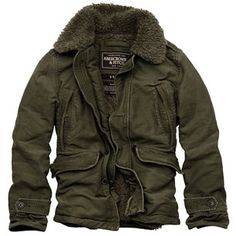 Men's Jackets For Every Occasion. Photo by Menswear Market Jackets are a must-have in the cold weather but it can also be used to accessorize an outfit. There is almost an unlimited number Military Fashion, Mens Fashion, Military Style, Military Jacket, Style Masculin, Mens Winter Coat, Winter Jackets For Men, Look Man, Winter Outfits Men