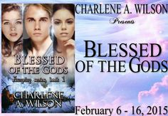 Tome Tender: Charlene A. Wilson's BLESSED OF THE GODS Blitz & G...