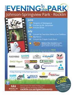City of Rocklin - Evenings in the Park