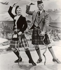 """Ginger Rogers The Barkleys of Broadway 1949 Ginger and Fred dance to """"My One and Only Highland Fling"""""""