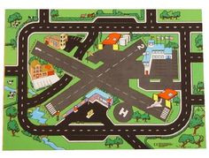 Airport & Highway Playmat (39 x 29 inches) - 2 runways, helipad, & highways by Sport and Playbase. $37.95. Hardwearing thick 650g rubber backing with easy clean 100% polyester surface. A superb base for adding favorite aeroplanes, helicopters, vehicles, figures, etc. See under separate listings: American International Airport, Set of 3 Giant Airport & Highway, Road Rail & Airport and Giant Craps Playmats. Complies with all relevant safety standards. Features a busy ...