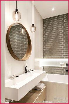 """Résultat de recherche d'images pour """"miroir rond salle de bain"""""""