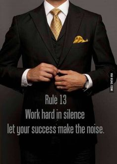 Rules for Gentleman
