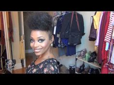 Dramatic HIGH BUN Tutorial!...i may tease just a little less, but that make up tutorial at the end aint bad!!!