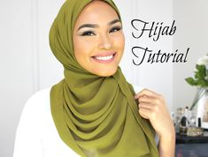 WELCOME BACK!!! XD THUMBS UP FOR A MAKEUP TUTORIAL ON THIS LOOK!! FOR MORE VIDEOS...LIKE, SHARE AND SUBSCRIBE!! XD OLIVE HIJAB FROM: http://www.verona-collec...
