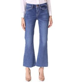 Tiny Waist, Curvy Rear? These Are the Jeans for You via @WhoWhatWearUK
