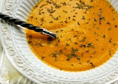 "Raw Food ""Roasted"" Tomato Basil Soup"