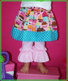 Girls Red Ruffle Pants Velvet Corduroy & by ...