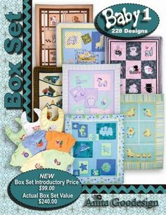 Anita Goodesign Embroidery Designs - Baby1 Box Set