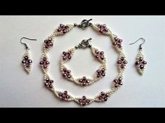 Bridal Jewelry, Bridesmaid Jewelry. Wedding Accessories Making - YouTube