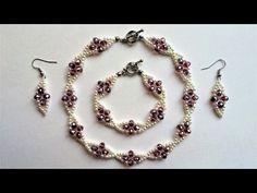 Bridal Jewelry, Bridesmaid Jewelry. Wedding Accessories Making - YouTube