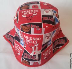 d23ed88848a Chicago Bulls Unisex Bucket Hat HPD1 by Hamlet by Hamlet Pericles
