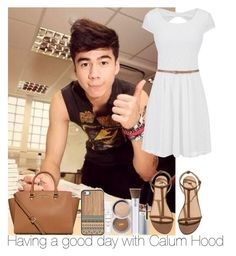 """Having a good day with Calum Hood"" by irish26-1 ❤ liked on Polyvore featuring Mode, maurices, H&M, MICHAEL Michael Kors und PurMinerals"