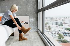 UGG  posted a new look to her/ his @Stylinity Lookbook!  Click to shop it now! #Fashion #Style #ootd #streetstyle #shoppable #shopthelook  @Stylinity #ShopMySelfie