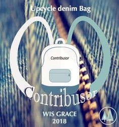 We are not only a 'Consumer' but also a 'Contributor' for the environment. Get your bag & Donate your old denim. (We are helping Africa poverty children from of our profit. Denim Branding, Denim Bag, You Bag, You Got This, Upcycle, Environment, Africa, Children, Bags