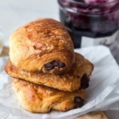 Nothing better than homemade Chocolate Croissants - a step by step guide